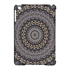 Celestial Pinwheel Of Pattern Texture And Abstract Shapes N Brown Apple Ipad Mini Hardshell Case (compatible With Smart Cover) by Nexatart