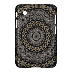 Celestial Pinwheel Of Pattern Texture And Abstract Shapes N Brown Samsung Galaxy Tab 2 (7 ) P3100 Hardshell Case  by Nexatart