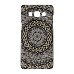 Celestial Pinwheel Of Pattern Texture And Abstract Shapes N Brown Samsung Galaxy A5 Hardshell Case