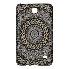 Celestial Pinwheel Of Pattern Texture And Abstract Shapes N Brown Samsung Galaxy Tab 4 (7 ) Hardshell Case  by Nexatart
