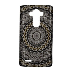 Celestial Pinwheel Of Pattern Texture And Abstract Shapes N Brown LG G4 Hardshell Case by Nexatart