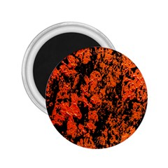 Abstract Orange Background 2 25  Magnets by Nexatart