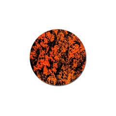 Abstract Orange Background Golf Ball Marker (10 Pack) by Nexatart
