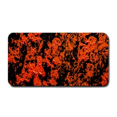 Abstract Orange Background Medium Bar Mats