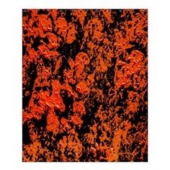 Abstract Orange Background Shower Curtain 60  X 72  (medium)  by Nexatart