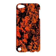Abstract Orange Background Apple Ipod Touch 5 Hardshell Case