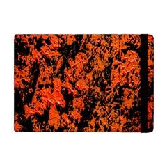 Abstract Orange Background Apple Ipad Mini Flip Case by Nexatart