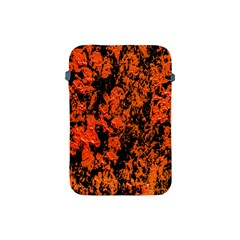 Abstract Orange Background Apple Ipad Mini Protective Soft Cases by Nexatart