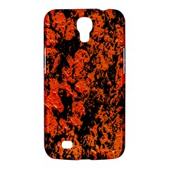 Abstract Orange Background Samsung Galaxy Mega 6 3  I9200 Hardshell Case