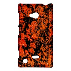 Abstract Orange Background Nokia Lumia 720 by Nexatart