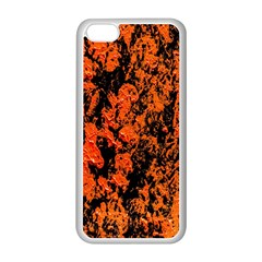 Abstract Orange Background Apple Iphone 5c Seamless Case (white) by Nexatart