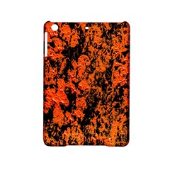 Abstract Orange Background Ipad Mini 2 Hardshell Cases by Nexatart