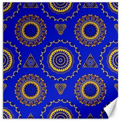 Abstract Mandala Seamless Pattern Canvas 20  X 20
