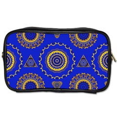 Abstract Mandala Seamless Pattern Toiletries Bags 2 Side