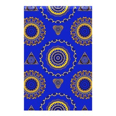 Abstract Mandala Seamless Pattern Shower Curtain 48  X 72  (small)  by Nexatart