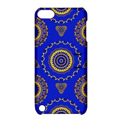 Abstract Mandala Seamless Pattern Apple Ipod Touch 5 Hardshell Case With Stand by Nexatart