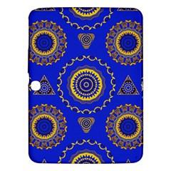 Abstract Mandala Seamless Pattern Samsung Galaxy Tab 3 (10 1 ) P5200 Hardshell Case