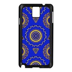 Abstract Mandala Seamless Pattern Samsung Galaxy Note 3 N9005 Case (black)