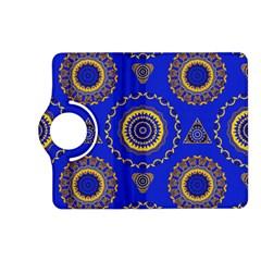 Abstract Mandala Seamless Pattern Kindle Fire Hd (2013) Flip 360 Case by Nexatart