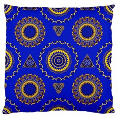Abstract Mandala Seamless Pattern Standard Flano Cushion Case (two Sides) by Nexatart
