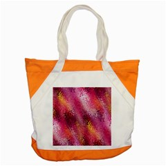 Red Seamless Abstract Background Accent Tote Bag