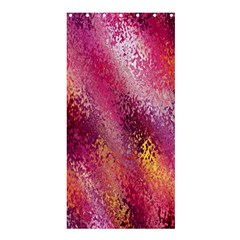 Red Seamless Abstract Background Shower Curtain 36  X 72  (stall)  by Nexatart