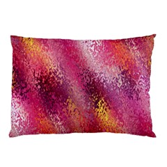 Red Seamless Abstract Background Pillow Case (two Sides) by Nexatart