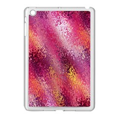 Red Seamless Abstract Background Apple Ipad Mini Case (white)