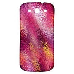 Red Seamless Abstract Background Samsung Galaxy S3 S Iii Classic Hardshell Back Case by Nexatart