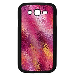 Red Seamless Abstract Background Samsung Galaxy Grand Duos I9082 Case (black) by Nexatart