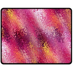 Red Seamless Abstract Background Double Sided Fleece Blanket (medium)