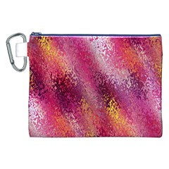 Red Seamless Abstract Background Canvas Cosmetic Bag (xxl) by Nexatart