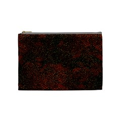 Olive Seamless Abstract Background Cosmetic Bag (medium)  by Nexatart