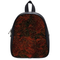 Olive Seamless Abstract Background School Bags (small)  by Nexatart