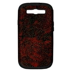 Olive Seamless Abstract Background Samsung Galaxy S Iii Hardshell Case (pc+silicone) by Nexatart