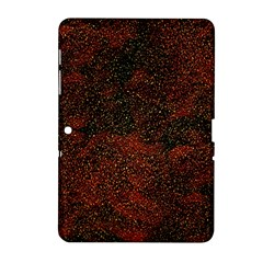 Olive Seamless Abstract Background Samsung Galaxy Tab 2 (10 1 ) P5100 Hardshell Case