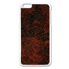 Olive Seamless Abstract Background Apple Iphone 6 Plus/6s Plus Enamel White Case by Nexatart