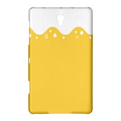 Beer Foam Yellow White Samsung Galaxy Tab S (8 4 ) Hardshell Case  by Mariart