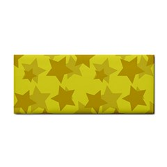 Yellow Star Cosmetic Storage Cases by Mariart