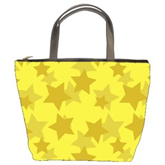 Yellow Star Bucket Bags by Mariart