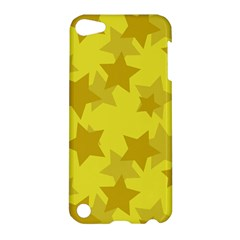 Yellow Star Apple Ipod Touch 5 Hardshell Case by Mariart