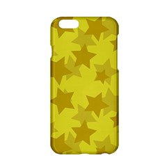 Yellow Star Apple Iphone 6/6s Hardshell Case by Mariart
