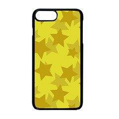 Yellow Star Apple Iphone 7 Plus Seamless Case (black) by Mariart