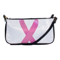 Breast Cancer Ribbon Pink Shoulder Clutch Bags by Mariart