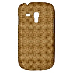 Chess Dark Wood Seamless Galaxy S3 Mini by Mariart