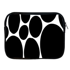 Dalmatian Black Spot Stone Apple Ipad 2/3/4 Zipper Cases by Mariart