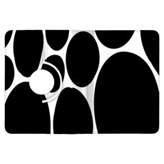 Dalmatian Black Spot Stone Kindle Fire Hdx Flip 360 Case by Mariart