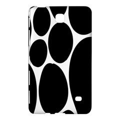 Dalmatian Black Spot Stone Samsung Galaxy Tab 4 (8 ) Hardshell Case  by Mariart