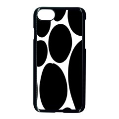 Dalmatian Black Spot Stone Apple Iphone 7 Seamless Case (black) by Mariart