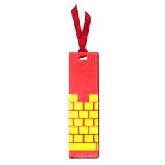 Firewall Bridge Signal Yellow Red Small Book Marks by Mariart